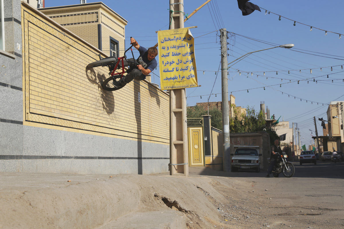 Wallride in Iran.