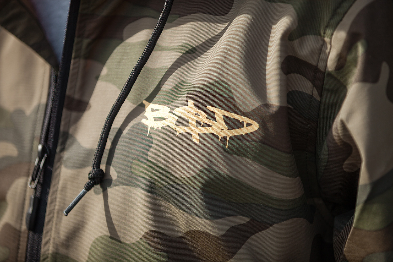 The 'Zing$' Anorak in OG camo