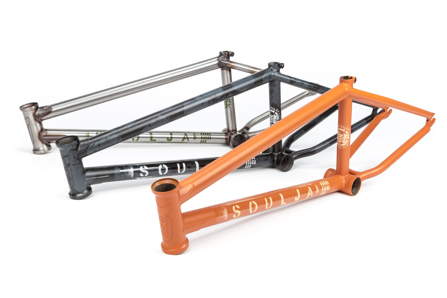 The new 2019 Soulja frame - check the Urban Camo paint job out!