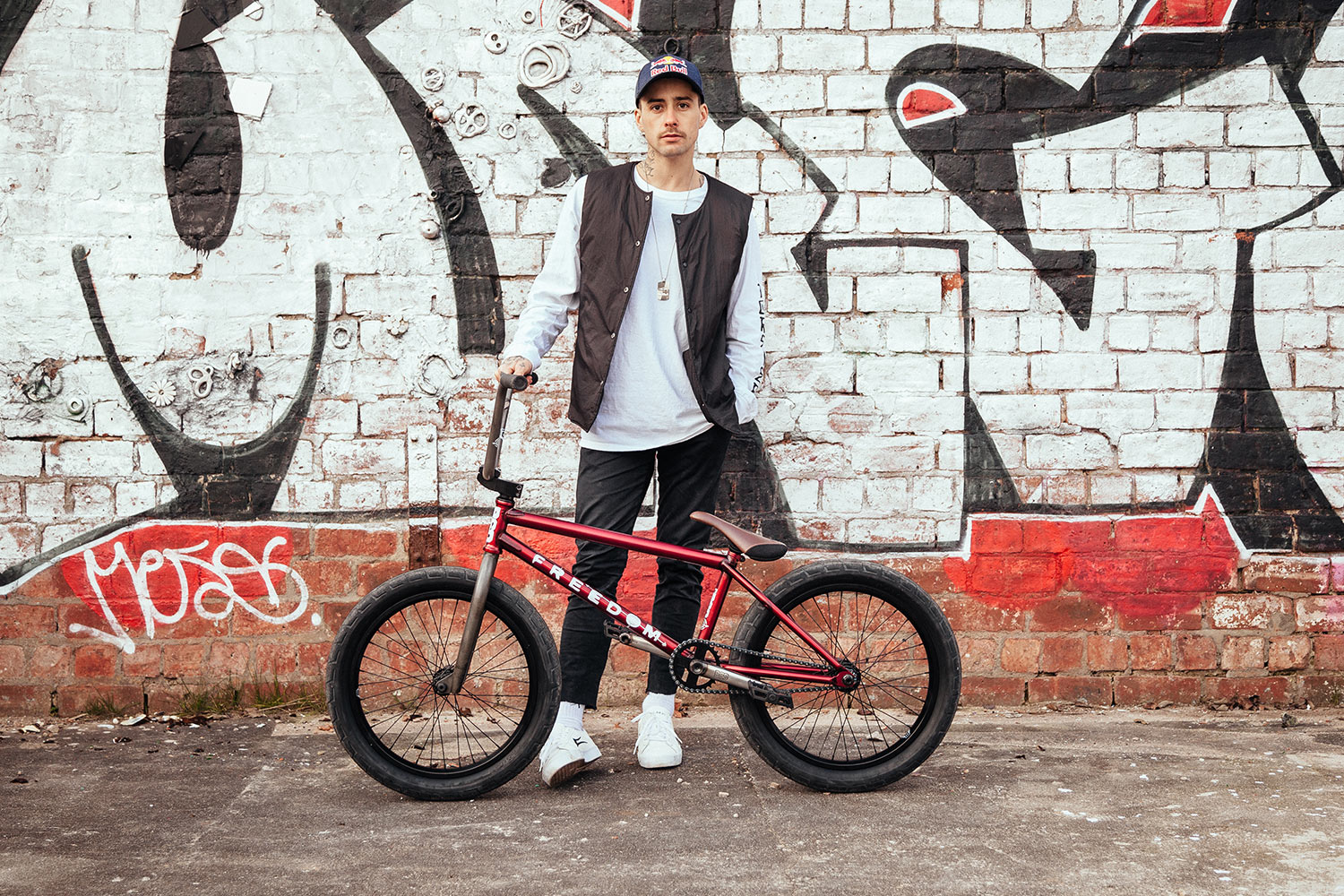 Kriss and his Freedom frame setup.