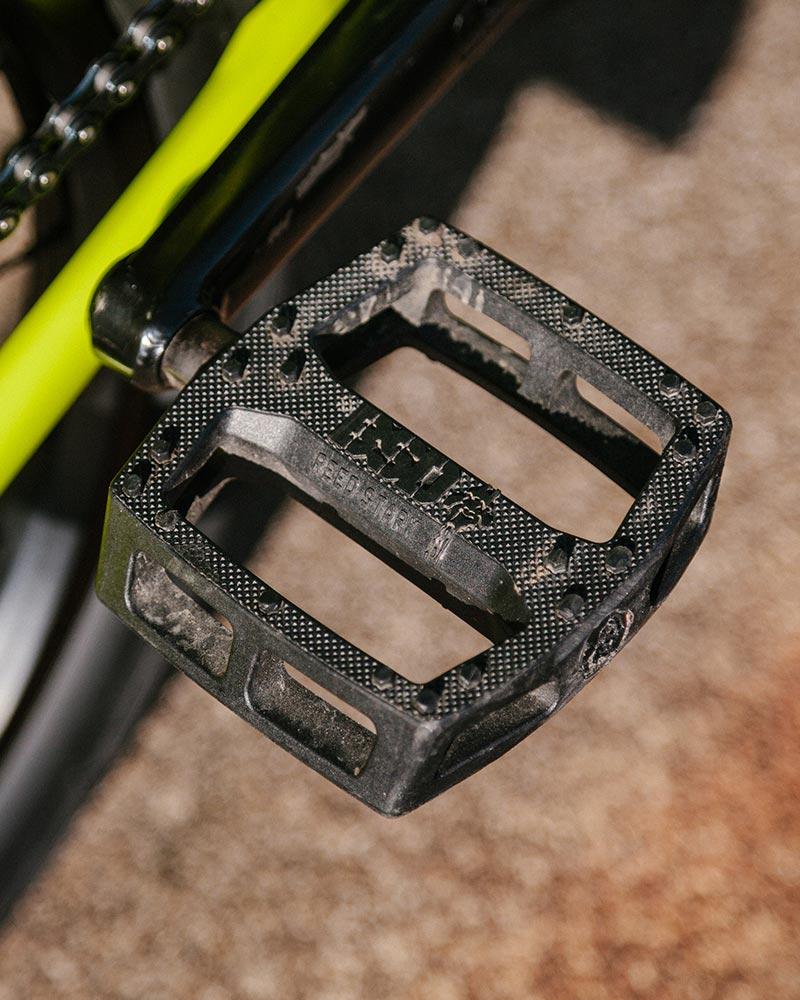 The trusty Safari pedal