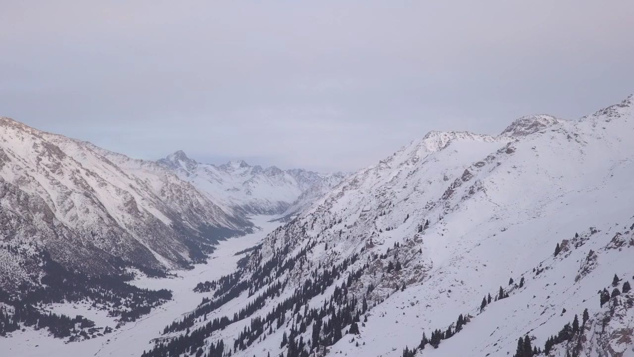Mountains and skiing in Kyrgyzstan