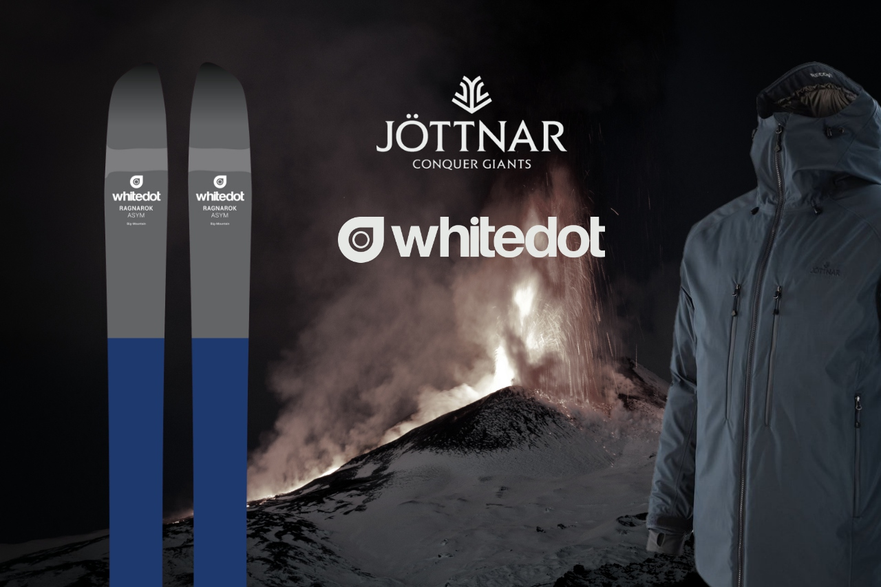 Win a Jöttnar Ragnarok jacket and a set of Whitedot Ragnarok ASYM skis
