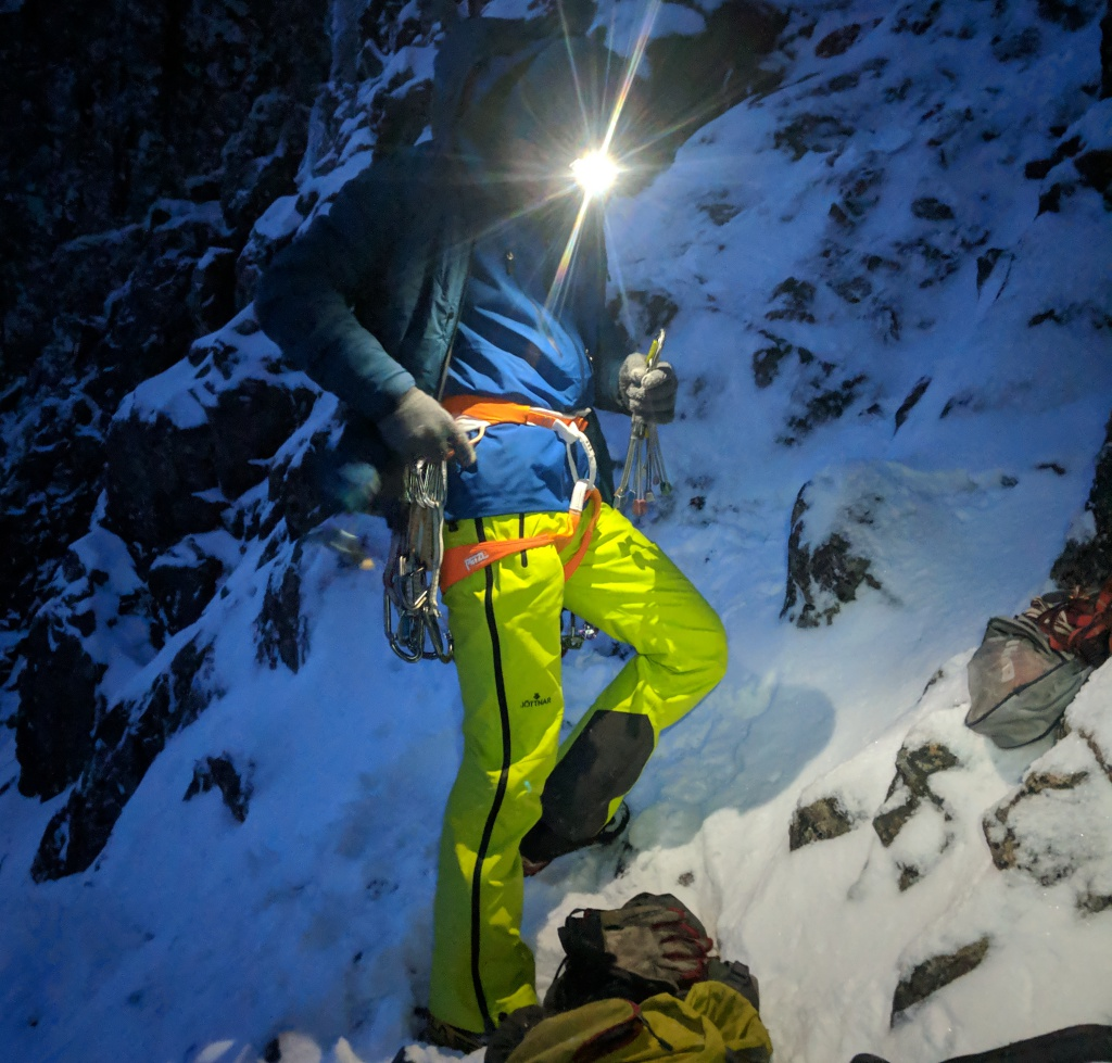 Church door buttress, scotland, climbing, ice climbing, adventure, photography