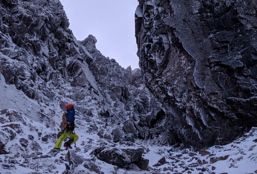 church door buttress, scotland, glencoe, climbing, ice, mountains, adventure, photography