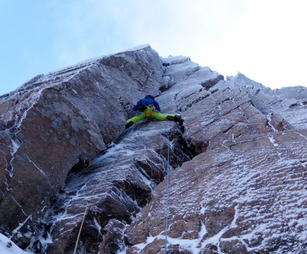 church door buttress, scotland, glencoe, climbing, mountains, adventure, photography