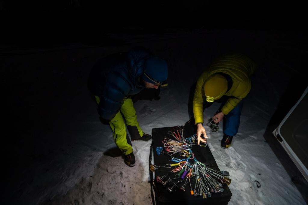 Climbing gear for Ben Nevis