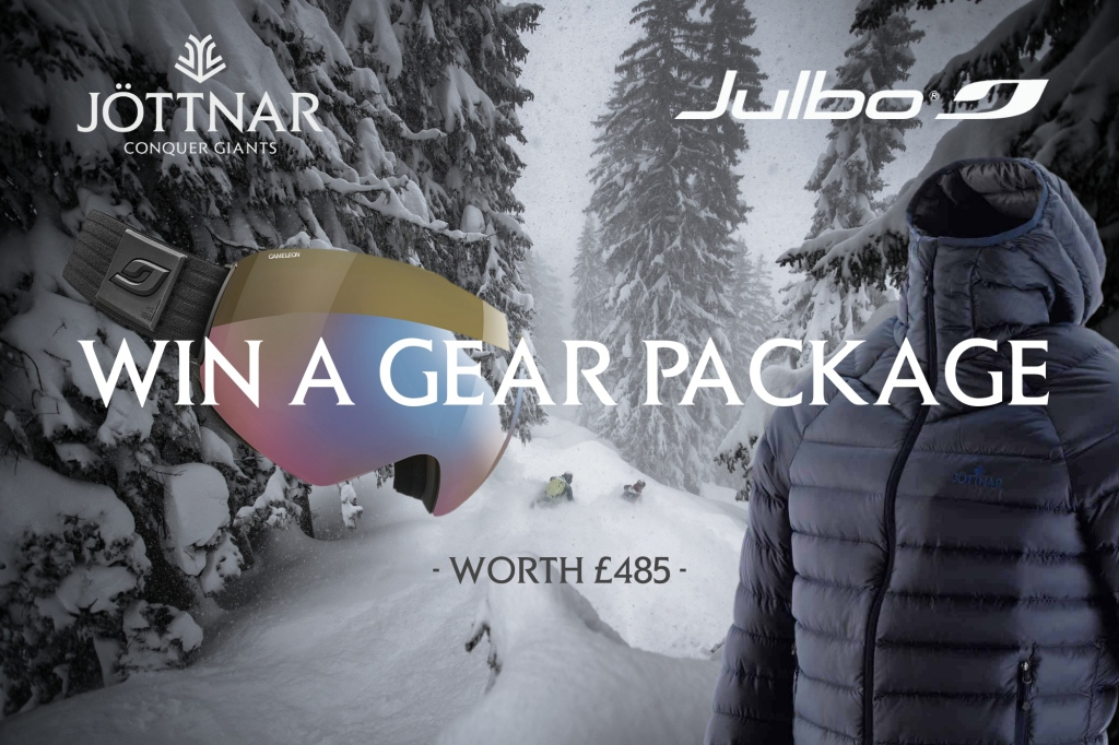 Win a gear package with Jottnar and Julbo worth £485
