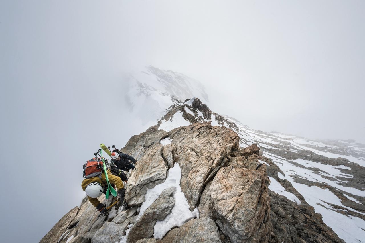 Climbing the Monch