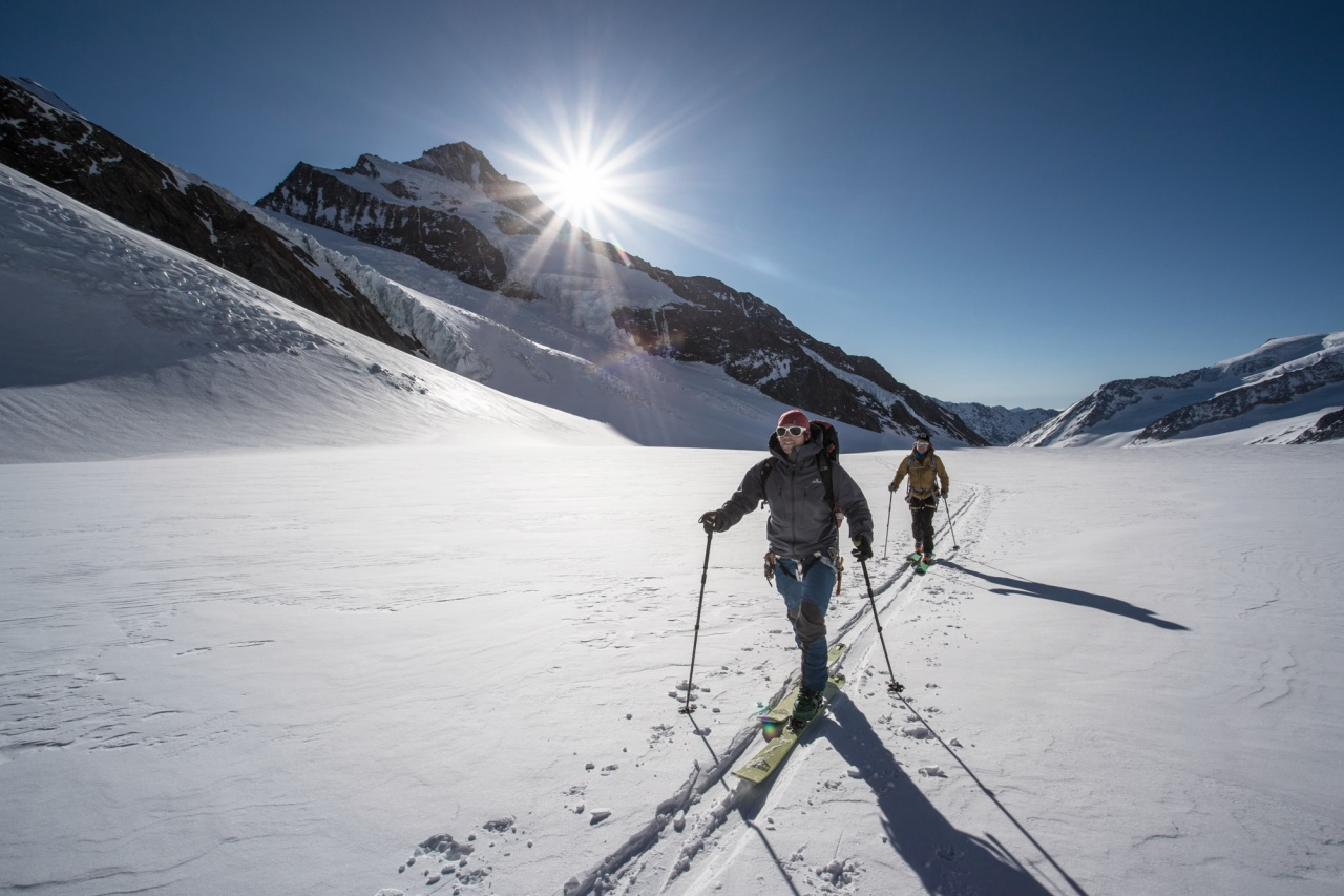 Ski touring to the Jungfraujoch via Fieschersattel